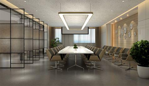 某网络公司办公室,现代风格