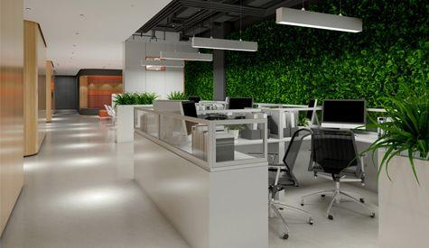 中国人保寿险办公室环境设计