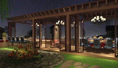 300m²海口鸿洲·江山别墅美式古典风格,古典世界的魅惑
