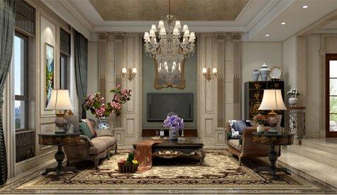 林溪湾750m²欧式风格,原创优雅,尊贵气质