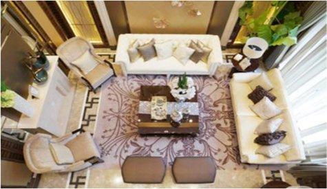 上海富力桃园C户型样板房 新古典风格