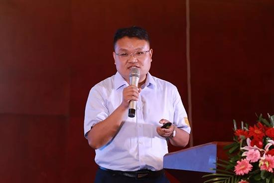飞速度销售副总曲奎奎先生演讲