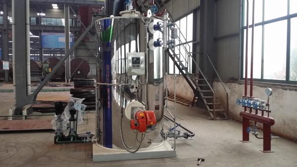 LHS立式燃油气蒸汽锅炉