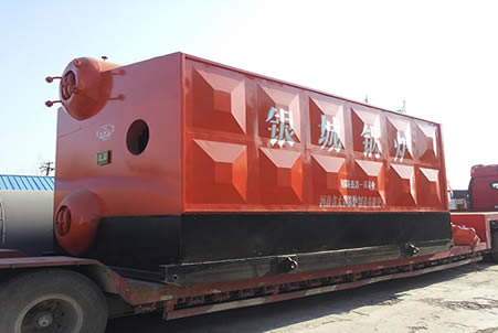 SZS双锅筒燃油气蒸汽锅炉