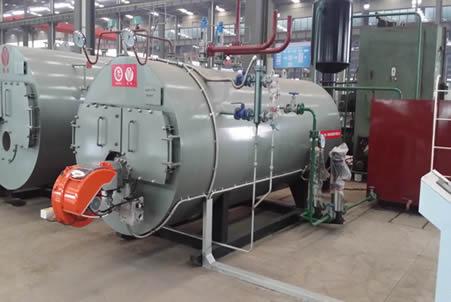WNS燃气油气蒸汽锅炉