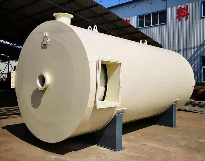 廣東食品廠燃油熱風鍋爐
