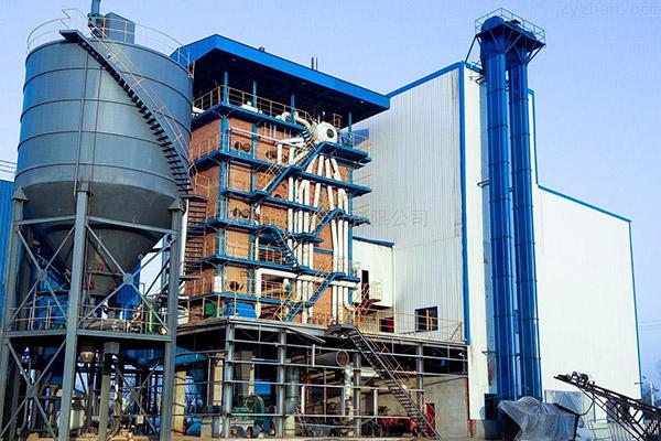 建材廠內循環流化床鍋爐