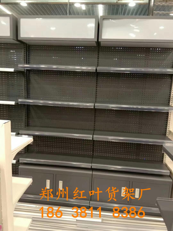 蘭考超市貨架整體安裝完畢