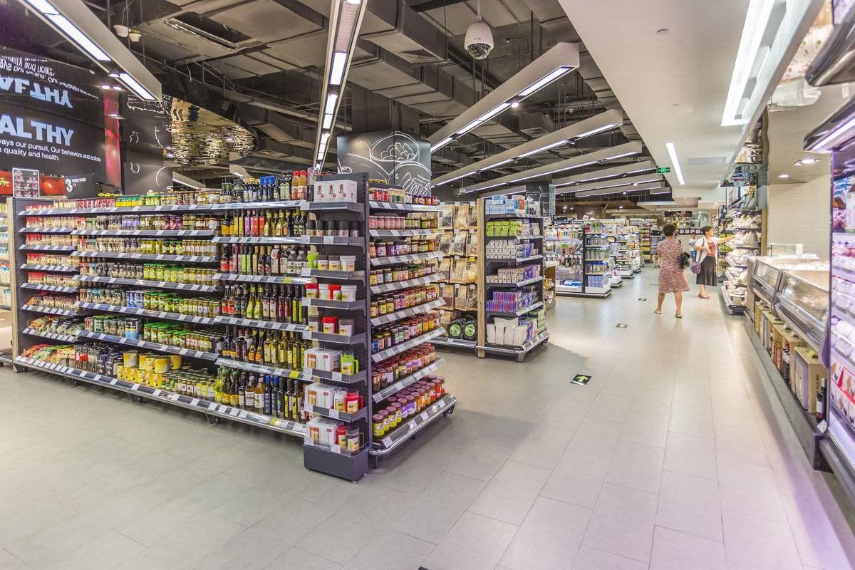 超市货架通道之间的距离一般是多少