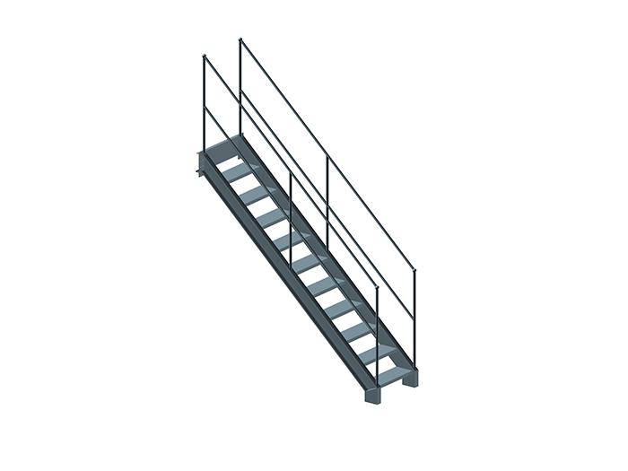 钢平台-楼梯