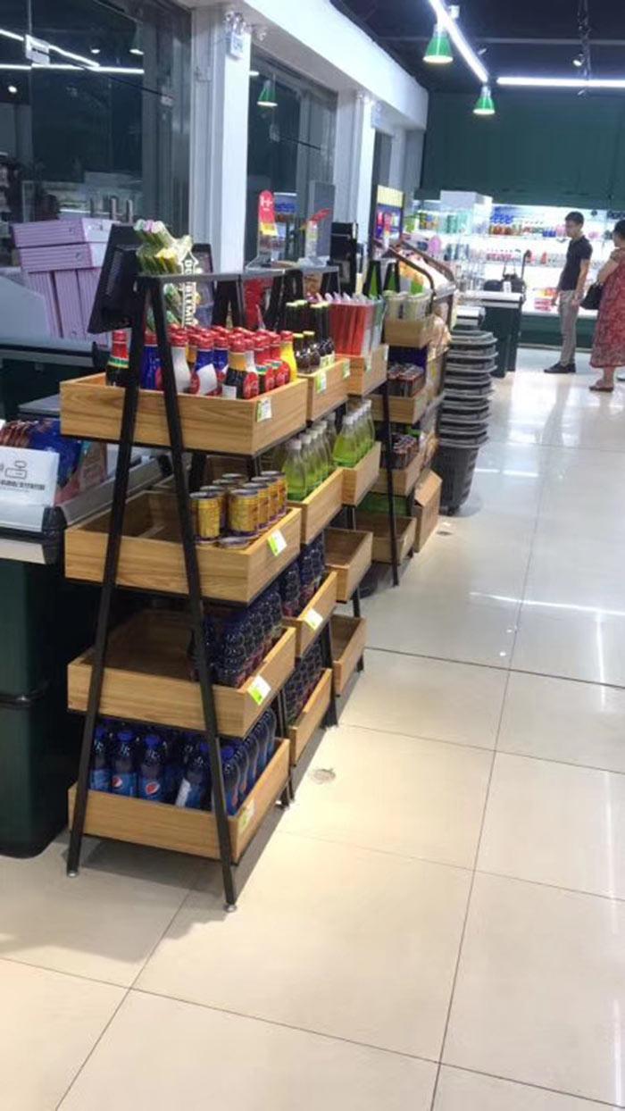 勤勞街超市貨架案例
