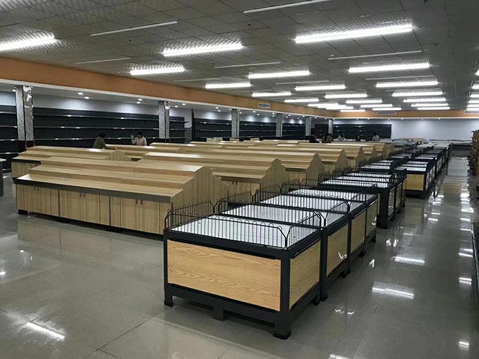 柘城縣陳清集鎮新天地購物廣場超市貨架案例