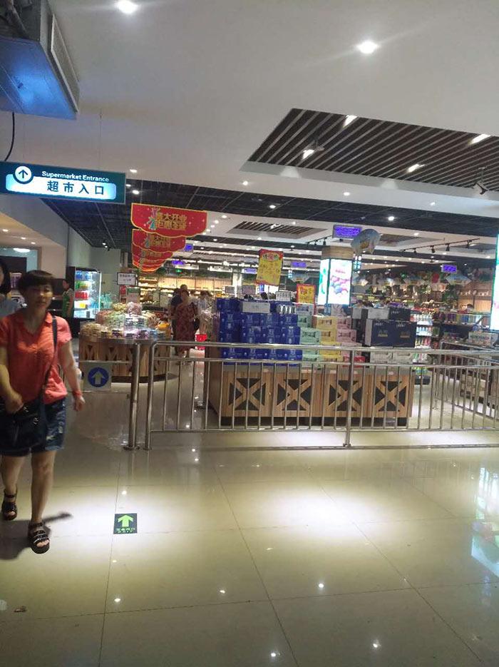 商丘虞城博奥购物广场商超货架案例