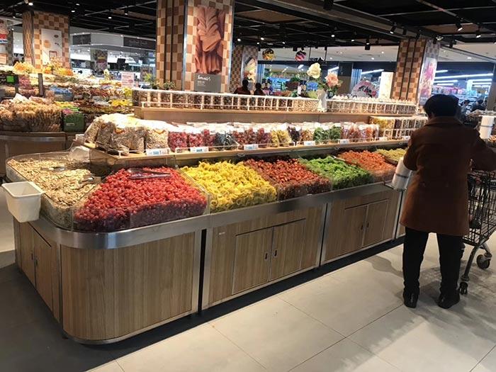 山东省菏泽市巨野佳和购物广场超市货架案例