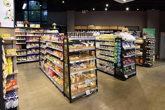超市货架如何摆放