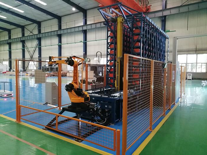 軍工配件自動化立體倉庫