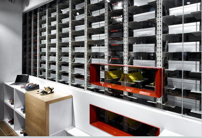 鞋服行業自動化立體倉庫