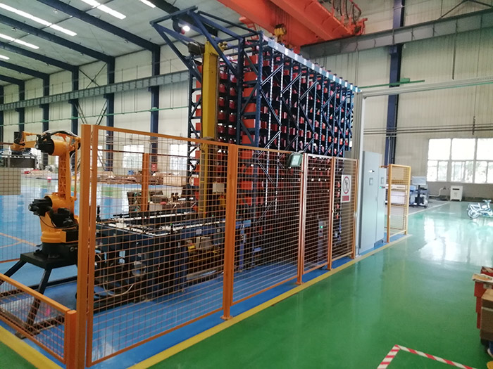 軍工配件自動化立體倉庫2