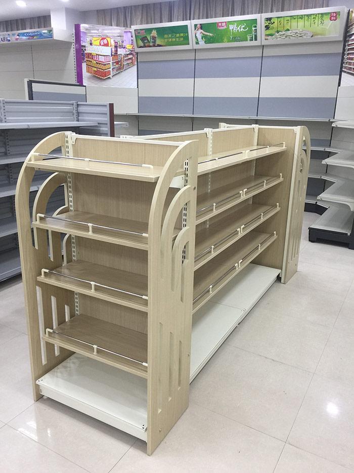 钢木化妆品货架