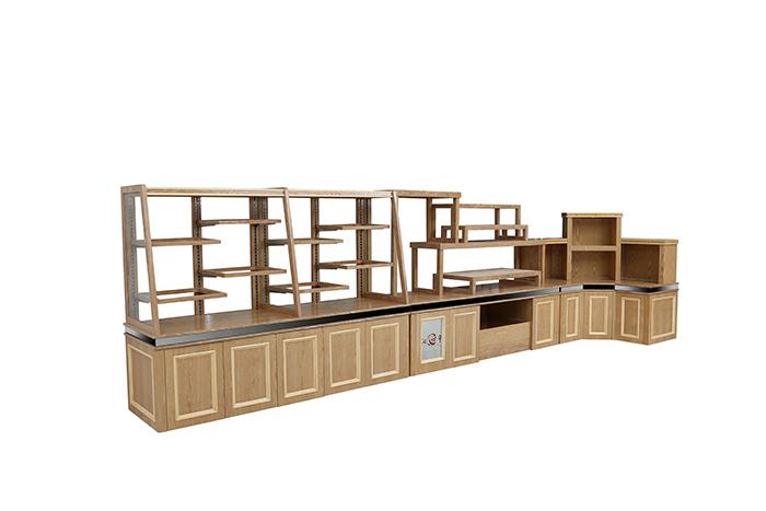 紅葉木制面包展示柜