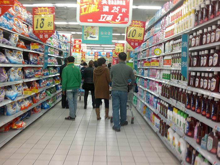 如何做好超市賣場貨架的布局排版