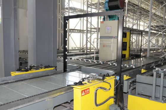 货物外形尺寸和重量检测系统及空托盘叠盘机