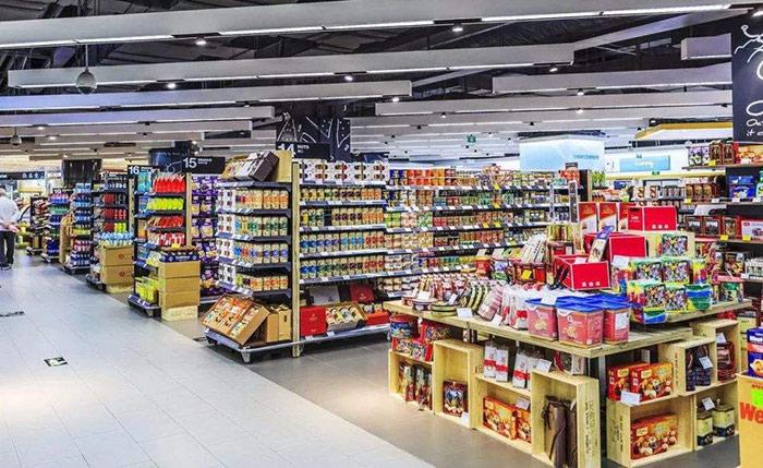 超市货架摆放方法