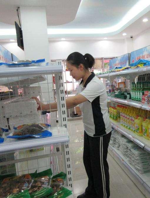 清潔超市貨架