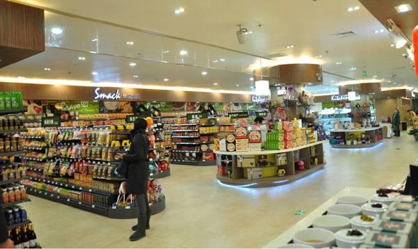 超市货架灯光设计