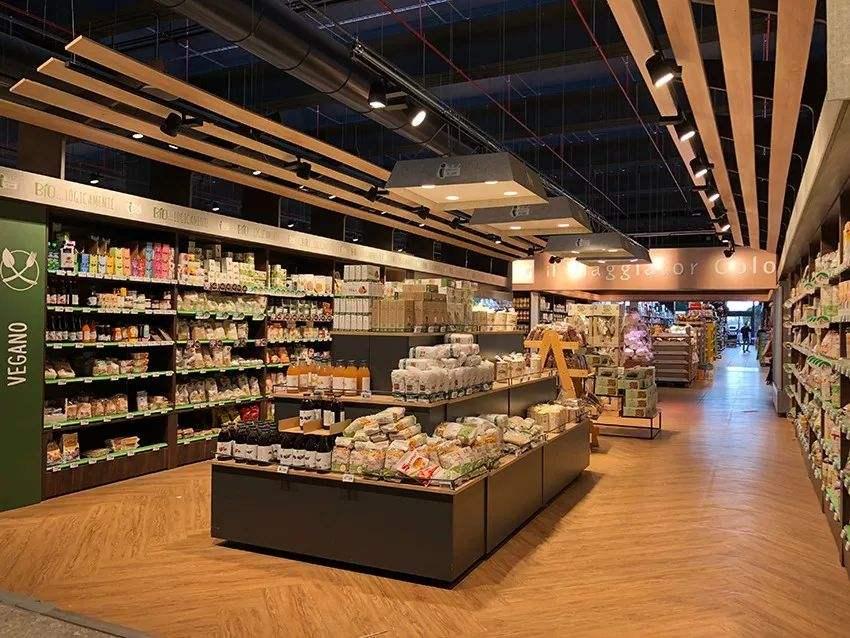 商场超市货架的摆放和灯光搭配有哪些讲究