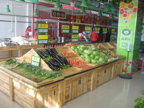 水果蔬菜货架怎么摆放好