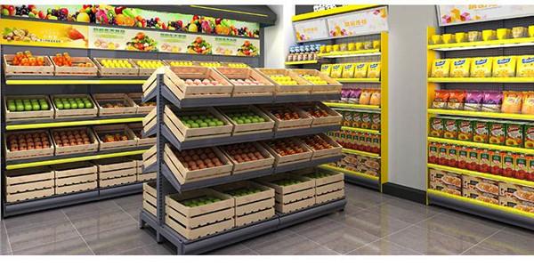 木質生鮮貨架有哪些使用技巧