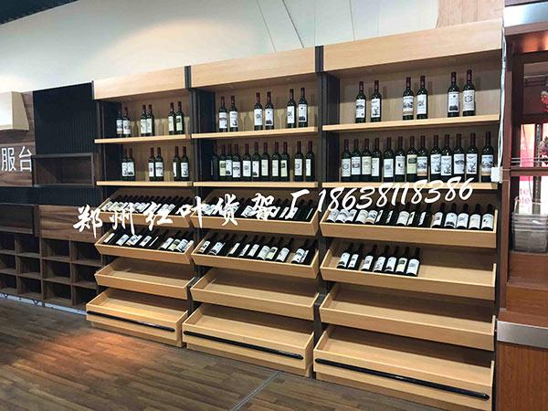 钢木烟酒货架