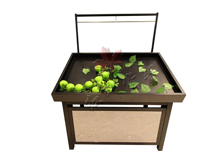 HY-永輝款單層鋼木果蔬架