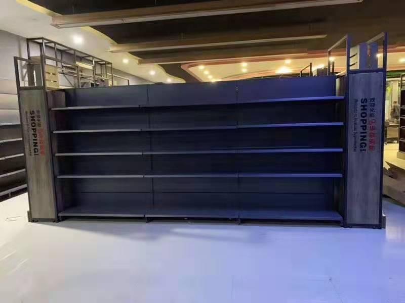 商丘隻為你潮購購物廣場貨架安裝案例