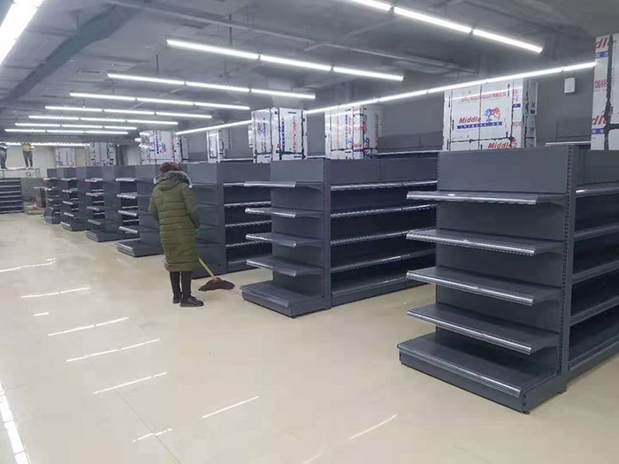 山西長治千友超市貨架案例