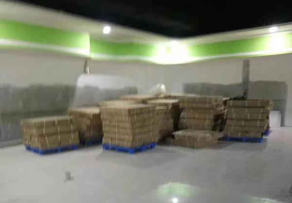 鑫苑-鑫都會世紀華聯超市貨架到貨