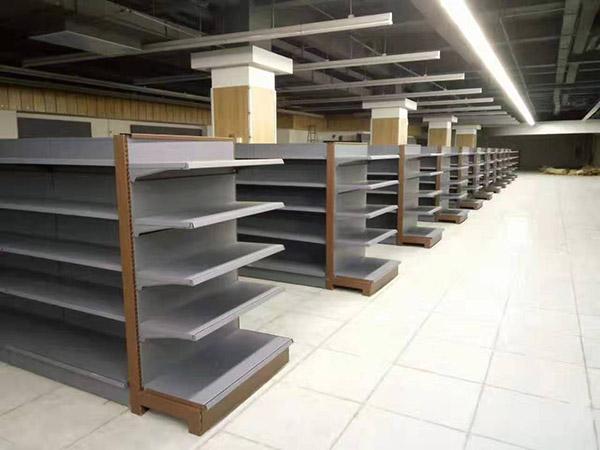 開封尉氏縣鑫豐購物廣場超市貨架案例