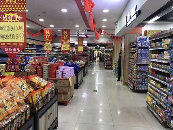 河北邯郸大润发超市货架案例