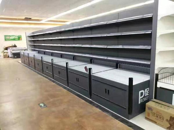 河南大潤發馬特購物廣場超市貨架案例