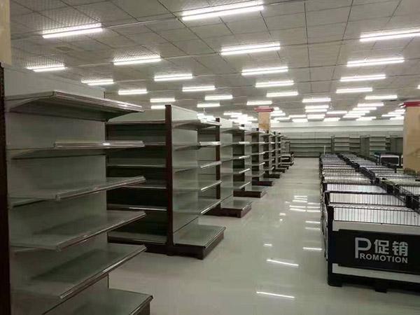 世紀華聯購物中心陶廟店超市貨架案例