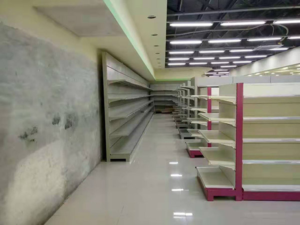 華潤百家購物廣場超市貨架案例