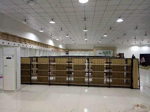 佳佳樂購物廣場鋼木貨架