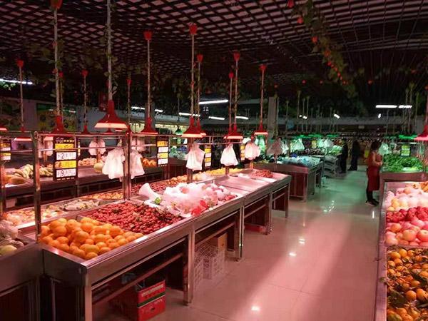 鋼木蔬菜水果貨架