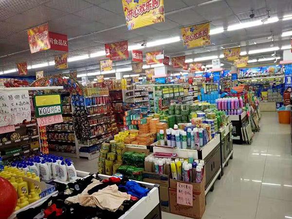 駐馬店市正陽縣永興鎮好友多購物廣場促銷台