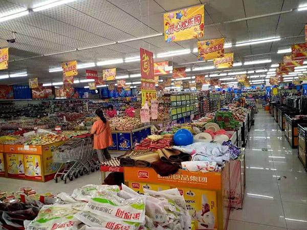 駐馬店市正陽縣永興鎮好友多購物廣場散貨區