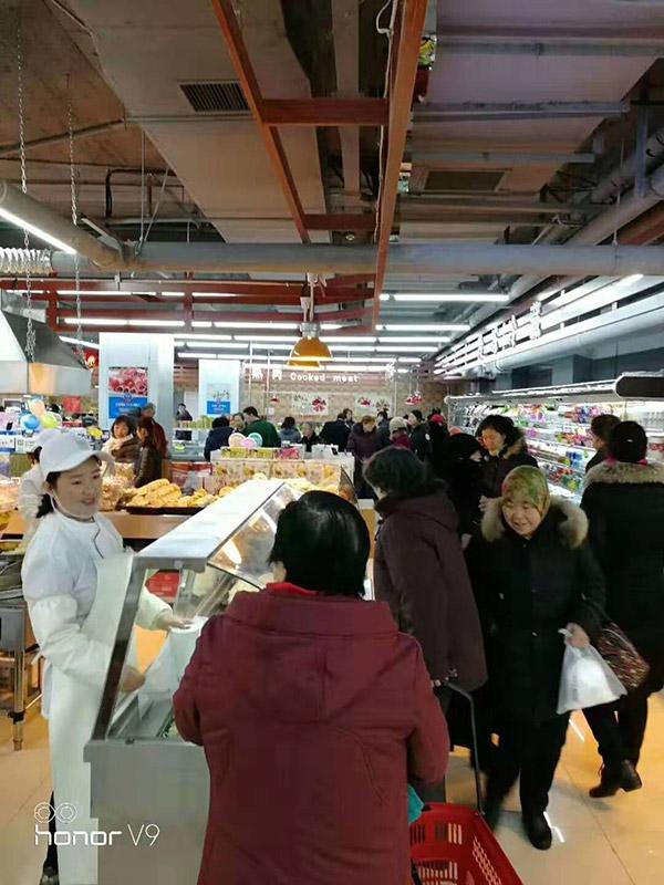 山西长治华龙国际千友超市熟食区