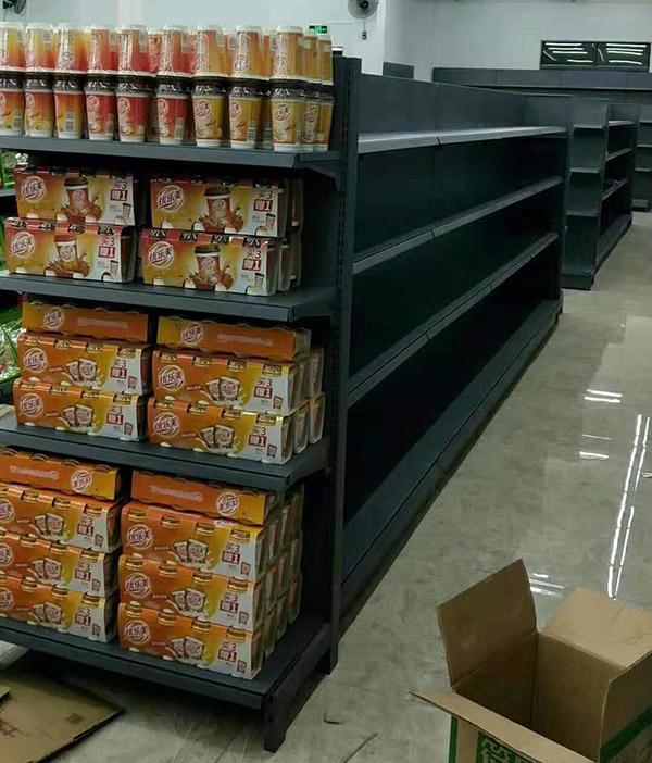 海南省陵水怡家綜合超市雙麵貨架