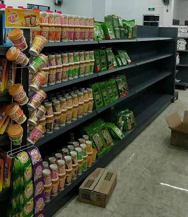 海南省陵水怡家綜合超市單麵貨架