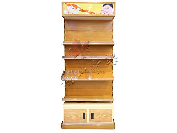 HY-木紋轉印雙麵化妝品貨架端頭